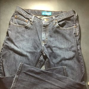 Lee premium blue jeans 14 Husky select straight